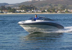 BOAT-REVIEW-CENTRE-Odyssey-650-Sundeck-+-BF225-Action-passing-front-side-view2-copy