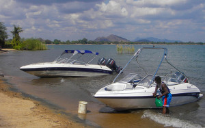 BOATS ON LAKE MALAWI